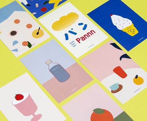 כרטיסי ביקור צבעוניים
